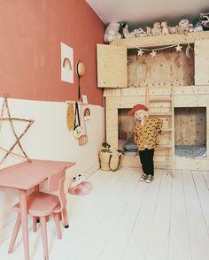 STYLEGUIDE    BLOSSOM - Mevrouw Aardbei Peach Walls, Boy Girl Room, Ikea Kids, Kids Furniture, Kids Bedroom, Style Guides, Baby Room, Cribs, Playroom