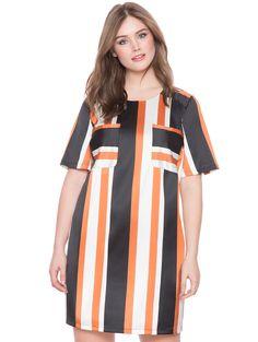 Pocket Detail T-Shirt Dress | Women's Plus Size Dresses | ELOQUII