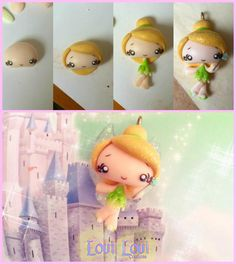 making of Tinkerbell kawaii Lovi Lovi Creations by LoviLoviCreations.deviantart.com on @deviantART