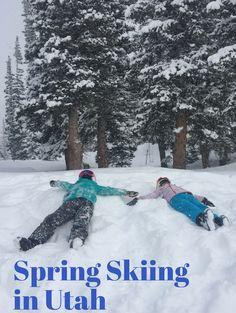 Plan your perfect family ski trip to Utah. Spring Skiing in Utah. | Spring Break Ski Trip | Utah Ski Trip | Utah Skiing With Kids | Spring Break Skiing Utah | MomTrends.com
