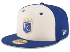 Kansas City Royals New Era MLB Vintage Throwback 59FIFTY Cap