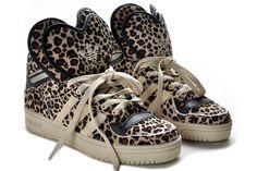 adidas originals x jeremy scott leopard tail sneakers