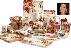 Crockery designed by Eva Mendes!!!!!! LOVELY!!!!!