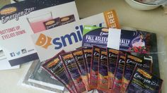 My free sample of Emergen zzz ! Thank you # smiley 360