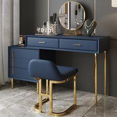 Bedroom Bed Design, Bedroom Furniture Design, Home Room Design, Home Decor Bedroom, Home Interior Design, Home Furniture, Living Room Decor, Dressing Room Decor, Dressing Room Design