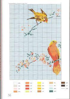 Gallery.ru / Фото #49 - Helene Le Berre - Les oiseaux a broder - velvetstreak