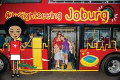 I'm on a bus, I'm on a bus, everybody look at me, cos I'm riding on a bus!! LOVING this hop on hop off City Sightseeing South Africa, Joburg bus! I'm sitting right at the top of course and waving to everyone. #zibu #heritagemonth #southafrica Moja Heritage Collection http://tinyurl.com/otmtu4g