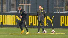 Erik Durm heute training beim Borussia Dortmund #erikdurm #durm #37 #bvb #training