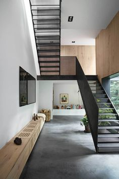 Cool and Creative Best Paint Staircase Ideas & Pictures #color #design #canvas #black #art #stairway #grey #ideas #runner #green #hallways #wainscoting #awesome #moldings #dark #homedecor #projects #layout #style #simple #tutorial #DIY Entry #ways #benches #flooring