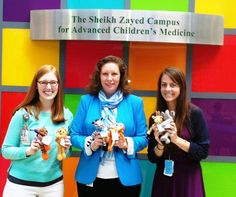 MMG stuffed animal: Who doesn't love stuffed animals? MMG donated 14 dozen stuffed animals, each adorned with messages for the children admitted at the Children's National Medical Center. #KSR2013