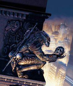 Predator ~ ILLUSTRATION by Marc Sasso, via Behance