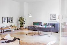 Living room Leberstrasse Berlin immobilienagentur Fantastic Frank