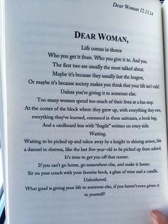 dear woman michael reid - Google Search