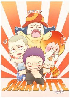 One Piece Big Mom, One Piece Funny, One Piece Fanart, One Piece Anime, Cracker One Piece, Big Mom Pirates, One Piece Pictures, Lil Boy, I Love Anime