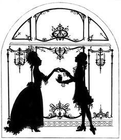 Baroque silhouettes.