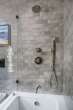 Beautiful Subway Tile Bathroom Remodel And Renovation (37