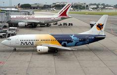 Myanmar Airways International Boeing 737-400