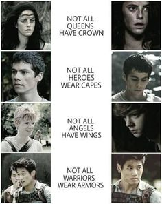 Love them all <3 .... Yeah even Teresa (only in the first book :D )