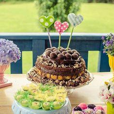 Servidos? O naked cake mais delicioso do mundo! #bolodatiamarta #melhorsabordetodos
