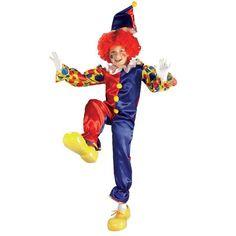Bubbles the Clown Child Costume: Shopko