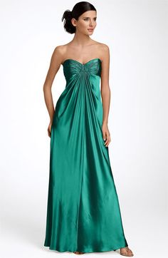 Laundry by Shelli Segal Strapless Charmeuse Bridesmaid Gown #wedding