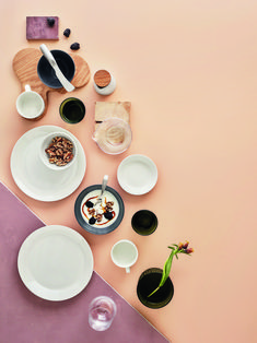 Shop the Teema Cereal Bowl by Iittala, a modern, designer white porcelain dinnerware with a practical design for everyday use; ideal for meals in a bowl. White Dinnerware, Porcelain Dinnerware, Plates And Bowls, Salad Plates, White Soup, Slow Mornings, Jewel Tone Colors, White Dinner Plates, Dessert Salads