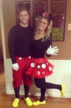 Minnie & Micky Maus Kostüm selber machen   Kostüm Idee zu Karneval, Halloween & Fasching