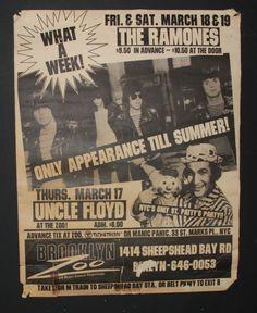 Ramones 1983 Brooklyn