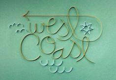 best coast #typography