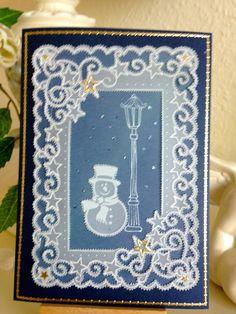 In der Kartenwerkstatt  Weil Weihnachten immer so schnell da ist, fange ich schon mal an, für meine Freunde und Verwandten die Weihnachtsgr...