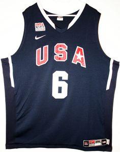 Nike USA Basketball Team #6 LeBron James Authentic Trikot/Jersey Size 52 - Größe XXL - 139,90€ #nba #basketball #trikot #jersey #ebay #sport #fitness #fanartikel #merchandise #usa #america #fashion #mode #collectable #memorabilia #allbigeverything