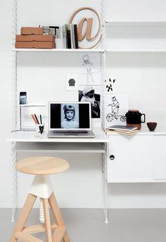 Interiør og skrivebord - Fem interiører - fem skrivebord - Inspirasjon