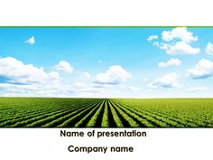 Free ag powerpoint template a piece of land cleared of trees and agriculture presentation layout httppptstarpowerpoint templatecultivated toneelgroepblik Images