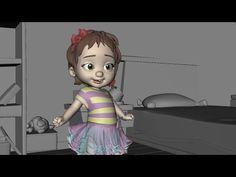 "CGI 3D Animated Shot HD: ""Little Girl Animation Shot"" by Gunes Gocmen - YouTube"