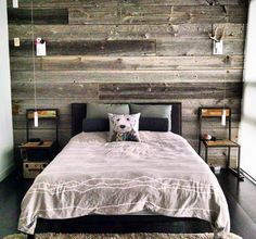 """1,331 Likes, 17 Comments - barnboardstore.com (@barnboardstore) on Instagram: """"Another cool reclaimed barn board feature wall DIY'd by one of our clients.  This one used our…"""""""