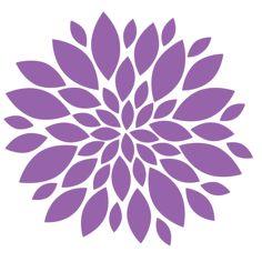 Flowers L clip art