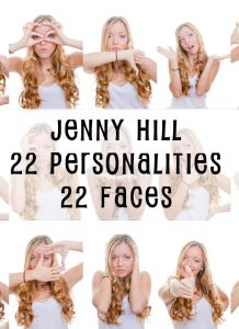 "Dr Phil spoke to Jenny Hill, a multiple personality disorder and victim of abuse. She has 22 different personalities and is the subject of ""22 Faces."""