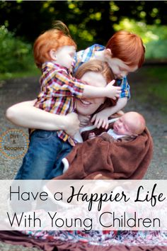 6 Great Parenting Tips to help us enjoy life with young children.