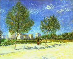 On the Outskirts of Paris - Vincent van Gogh