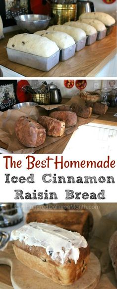 Shirley's Iced Cinnamon Raisin Bread Before I went to Pennsylvania to visit my friend Zoë and her mom Valerie, I spent some time with my friend Jennifer's mom Shirley. Last fall Shirley sent me an email asking if I would give her some rug hooking lessons. Breakfast Recipes, Dessert Recipes, Dinner Recipes, Cinnamon Raisin Bread, Cinnamon Rolls, Rasin Bread, Banana Bread, Bread Bun, Bread Rolls