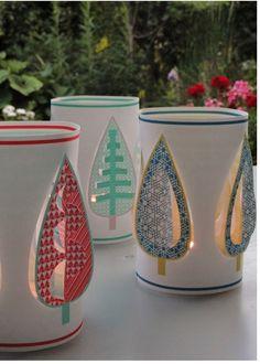 Shine lanterns to use over a glass jar