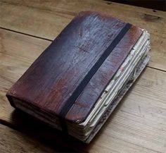 The feel of leather. Arcane Trickster, Project Blue Book, Cool Journals, Ancient Mysteries, Love My Kids, Leather Notebook, Indiana Jones, Journal Notebook, Travelers Notebook