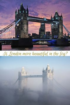 Is London more beautiful in the fog?