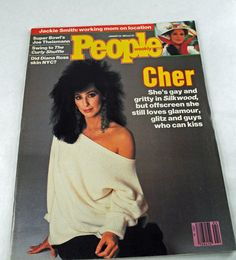 1984 Collectible Magazine, CHER Cover, Silkwood movie, Joe Theismann, Curly Shuffle, Diana Ross People Magazine #67