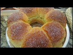 Receita de Padaria : Pão Doce / Rosca de Coco Recheada -Fácil de Fazer - YouTube
