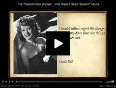 Wonderful little video of quotes from inspirational women. Worth a click & watch.