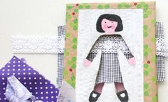 Kids' Craft | Dress-up Doll Game | Imaginative play