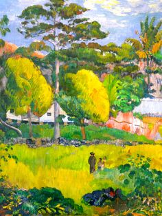 Paul Gauguin Paysage 1901                                                                                                                                                      More