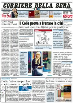 Il Corriere della Sera (04-08-13) Italian | True PDF | 36 pages | 11,76 Mb