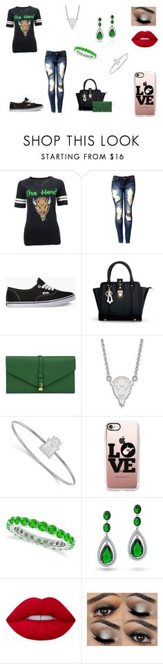 """""""Untitled #139"""" by b-bryant1816 on Polyvore featuring Soffe, Vans, Mundi, LogoArt, Casetify, Allurez, Bling Jewelry and Lime Crime"""